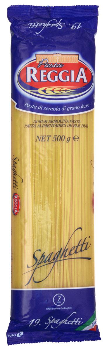 Pasta Reggia Спагетти классические макароны, 500 г0120710Спагетти Pasta Reggia 019 произведены по классическим рецептам неаполитанской кухни Юга Италии. Эти макаронные изделия подходят для приготовления множества ваших любимых блюд, а вкусовые качества неизменно порадуют даже самого придирчивого гурмана!