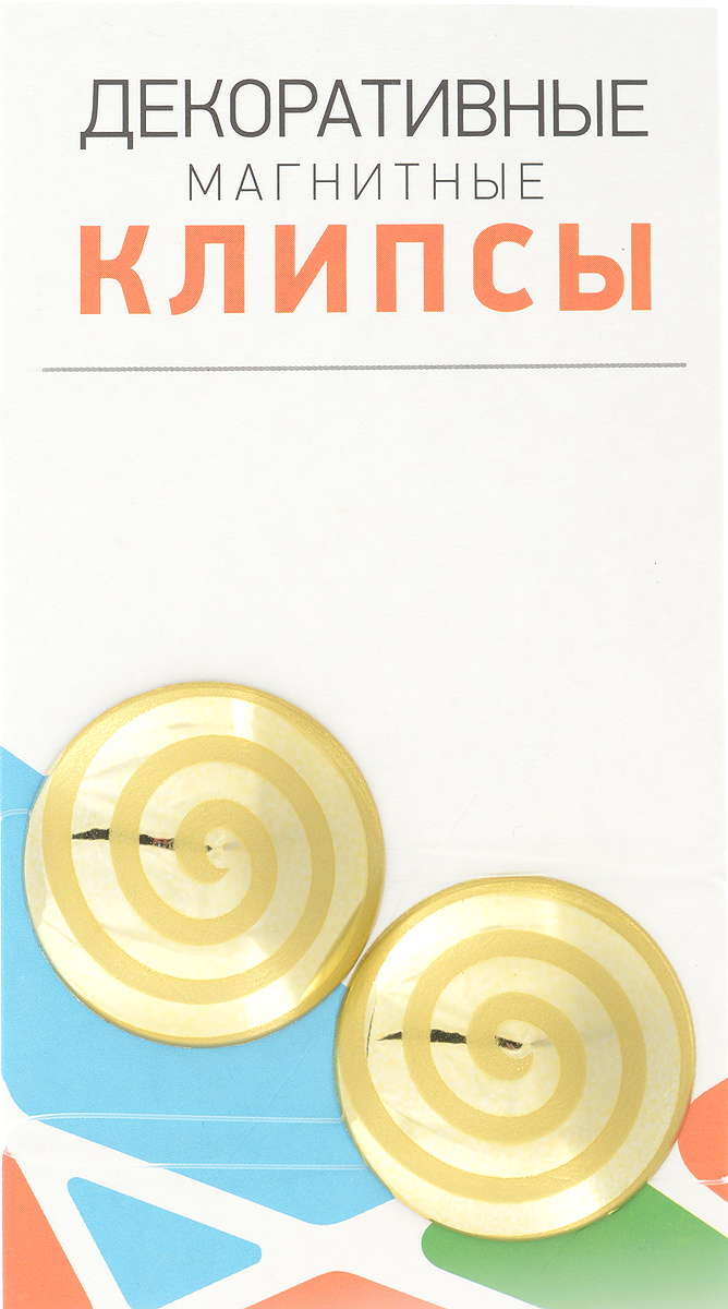 Клипсы магнитные для штор SmolTtx Гипноз, с леской, цвет: золотистый, длина 33,5 см, 2 штS03301004Магнитные клипсы SmolTtx Гипноз предназначены для придания формы шторам. Изделие представляет собой соединенные леской два элемента, на внутренней поверхности которых расположены магниты.С помощью такой клипсы можно зафиксировать портьеры, придать им требуемое положение, сделать складки симметричными или приблизить портьеры, скрепить их.Следует отметить, что такие аксессуары для штор выполняют не только практическую функцию, но также являются одной из основных деталей декора, которая придает шторам восхитительный, стильный внешний вид. Длина клипсы (с учетом лески): 33,5 см.Диаметр клипсы: 3,5 см.