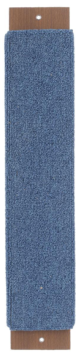 Когтеточка Гамма Ковролин, с пропиткой, цвет: синий, 57 см х 11 см0120710Когтеточка Гамма Ковролин выполнена из оргалита и ковролина в виде доски. Когтеточка предназначена для стачивания когтей вашего питомца. Натуральное волокно когтеточки обеспечивает естественный уход за когтями кошки, предотвращая их врастание. Специальная пропитка привлекает внимание кошки, что позволяет сохранить мебель и другие предметы интерьера.Установите когтеточку в любом доступном для кошки месте и закрепите ее наиболее подходящим для вас способом.Размер: 57 см х 11 см.