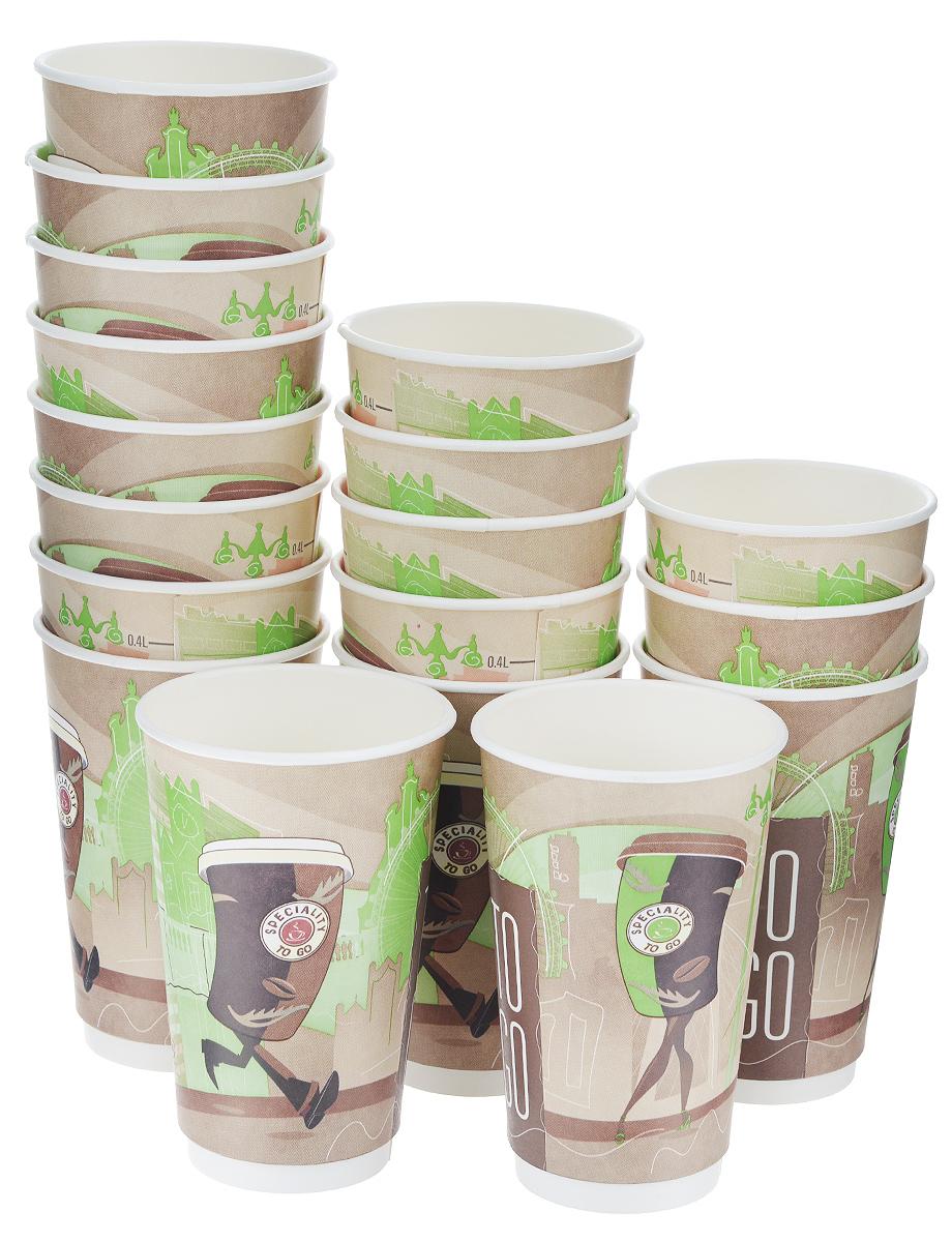 Набор одноразовых стаканов Huhtamaki Coffee Break, бумажные, 400 мл, 18 штFD-59Одноразовые стаканы Huhtamaki Coffee Break изготовлены из двуслойной плотной бумаги с внутренней ламинацией. Они отлично подойдут для кофе, какао, шоколада и других горячих и холодных напитков. Несмотря на то, что стаканы бумажные, они очень прочные и не промокают. Диаметр стакана (по верхнему краю): 8 см. Высота стакана: 14 см.