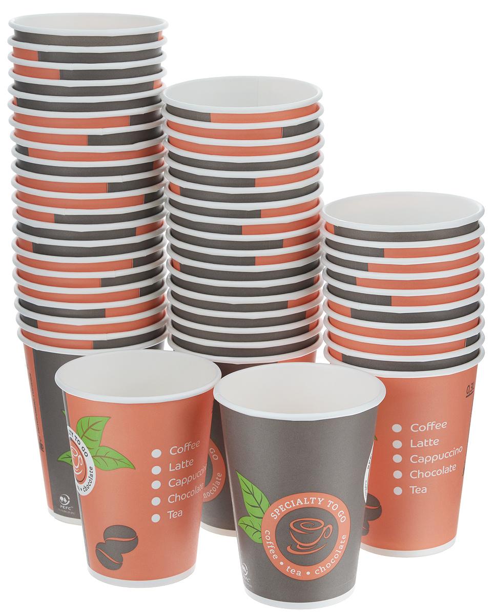 Набор одноразовых стаканов Huhtamaki Coffee-to-Go, 300 мл, 50 штПОС08743Одноразовые стаканы Huhtamaki Coffee-to-Go изготовлены из ламинированной плотной бумаги и оформлены оригинальным рисунком. Изделия предназначены для подачи холодных и горячих напитков. Вы можете взять их с собой на природу, в парк, на пикник и наслаждаться вкусными напитками. Несмотря на то, что стаканы бумажные, они очень прочные и не промокают. Диаметр стакана (по верхнему краю): 9 см.Высота стакана: 11 см.