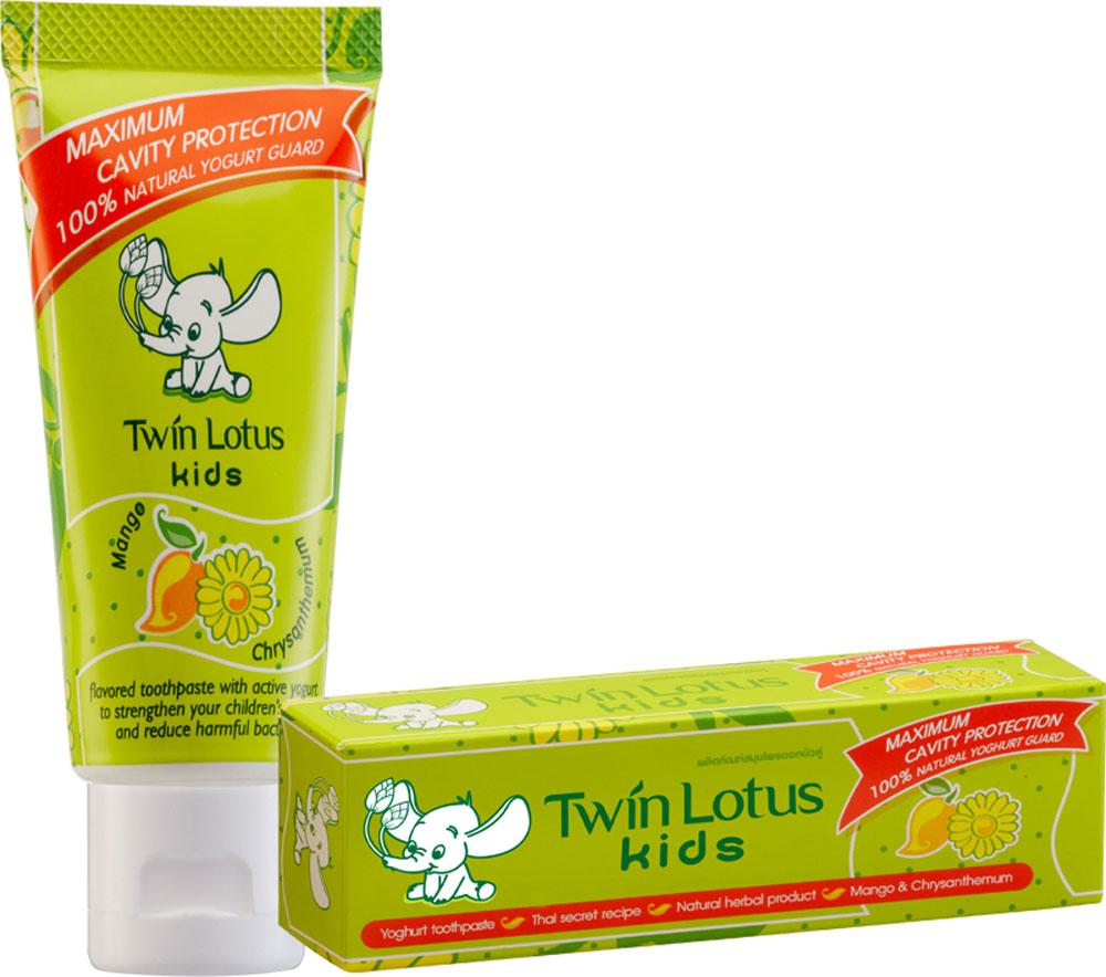 Twin Lotus Детская зубная паста Манго и хризантема, 50 гMP59.4DДля молочных и постоянных зубов.Не содержит фтора, лауритсульфат натрия, парабенов, ПЭГ.Зубная паста предназначена для детей от 3 до 10 лет. Препятствуетросту бактерий, обеспечивая надежную защиту от кариеса, нормализуют микробный состав полости рта, укрепляет зубную эмаль, предотвращая потерю кальция, обладает приятным фруктовым вкусом.
