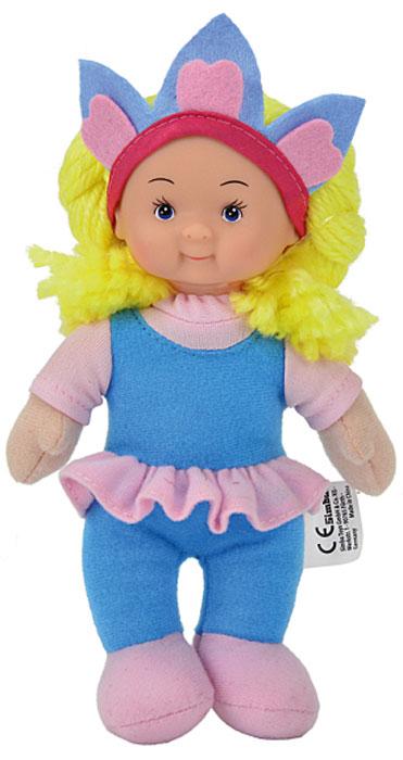 Simba Кукла мягкая цвет наряда голубой розовый