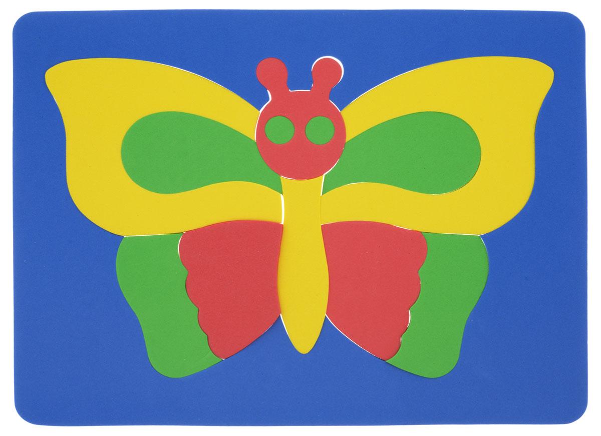 Фантазер Пазл для малышей Бабочка цвет основы синий бомик пазл для малышей цифры цвет основы красный