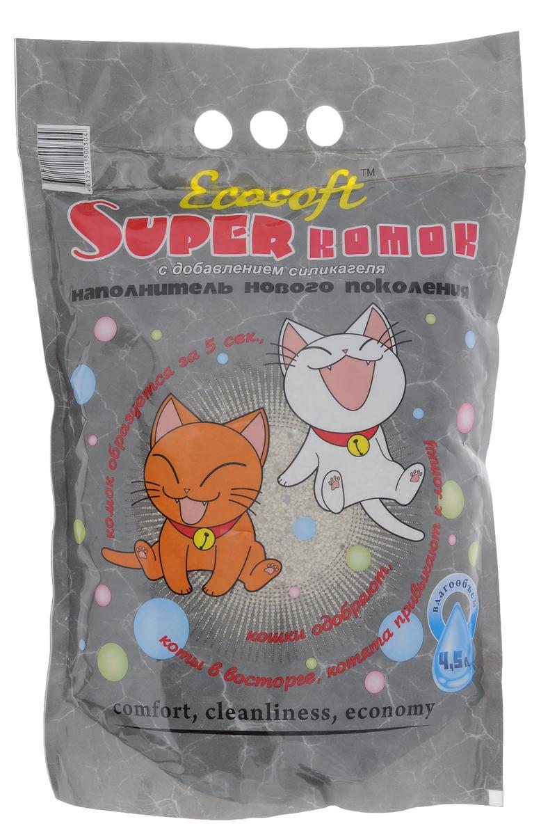 Наполнитель для кошачьего туалета Экософт