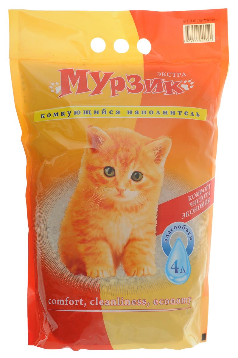 Наполнитель для кошачьего туалета Мурзик