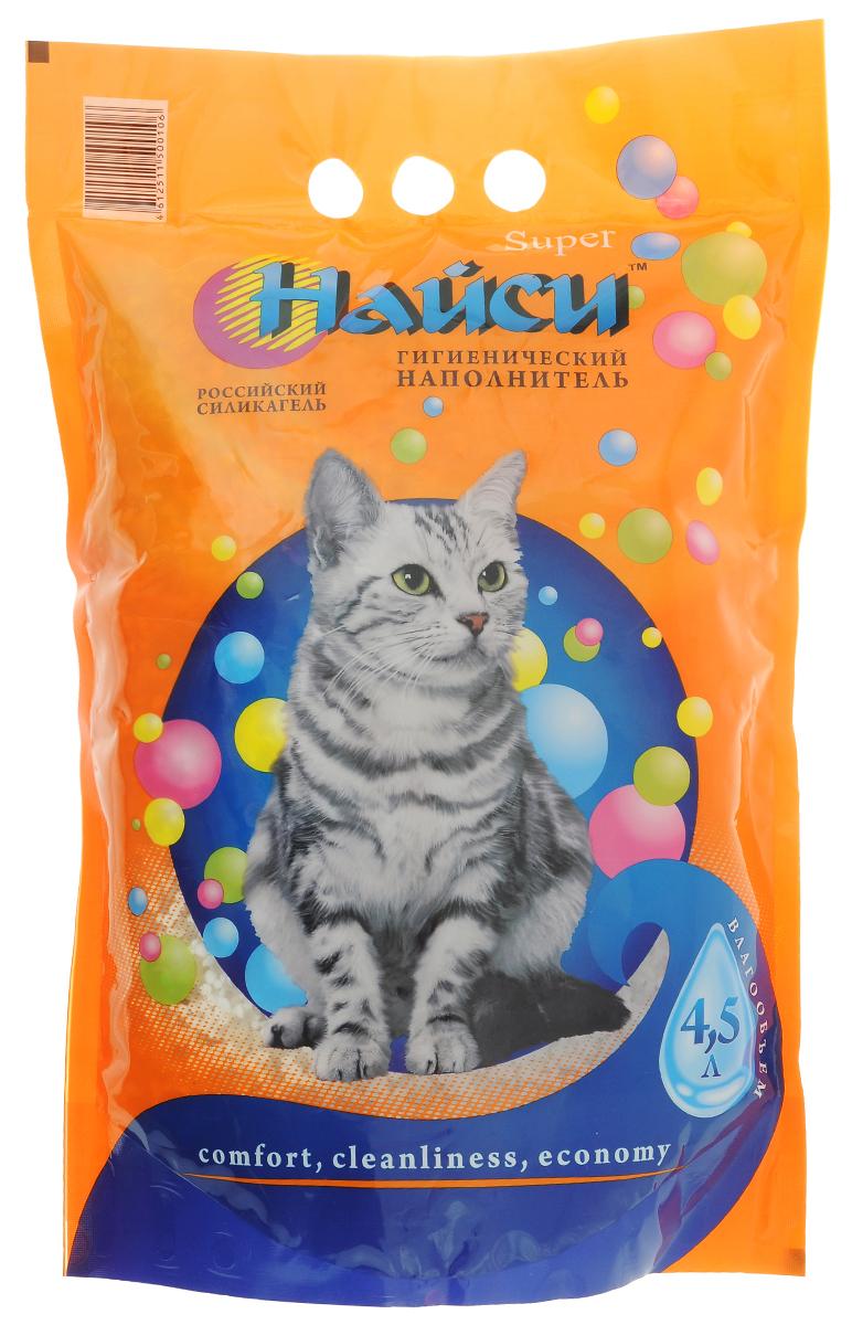 Наполнитель для кошачьего туалета Найси