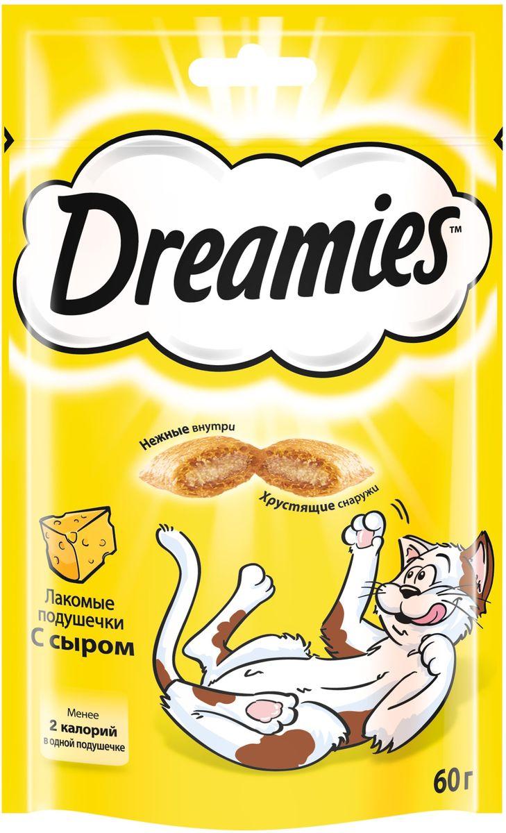 Лакомство для взрослых кошек Dreamies, подушечки с сыром, 60 г101246Лакомство Dreamies - это сказочное лакомство, выполненное в виде хрустящих подушечек с вкусной начинкой, является добавкой к ежедневному рациону кошки. Обогащено витаминами и минералами. Незабываемый нежный сыр в хрустящей вкусной подушечке - это достойная награда вашему любимому зверю.Состав: белковые растительные экстракты, злаки, мясо и субпродукты, масло и жиры, витамины и минеральные вещества, молоко и молочные продукты (включая 4% сыра).Пищевая ценность: белки - 32%, жиры - 20%, клетчатка - 1%, зола - 8,5%, витамин A - 6000 МЕ/кг, витамин B1 - 6 мг/кг, витамин B2 - 5 мг/кг, витамин B6 - 5 мг/кг, витамин D3 - 600 МЕ/кг, витамин E - 75 мг/кг, медь как сульфат меди(II) - 10 мг/кг.Вес: 60 г.Энергетическая ценность в 100 г: 386 ккал.Товар сертифицирован.