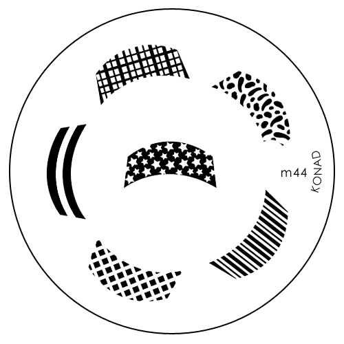 Konad Печатная форма (диск) M44 image plateWS 7064Диск для стемпинга. Теперь создавать дизайны на ногтях стало очень просто