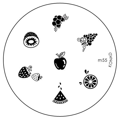 Konad Печатная форма (диск) M55 image plate28032022Диск для стемпинга. Теперь создавать дизайны на ногтях стало очень просто