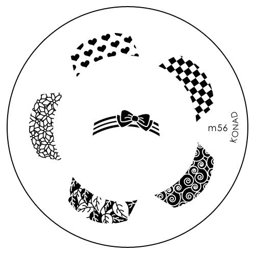 Konad Печатная форма (диск) M56 image plateSN-SP5-S022Диск для стемпинга. Теперь создавать дизайны на ногтях стало очень просто