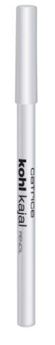 CATRICE Контур для глаз Kohl Kajal 040 White белый, 1,1гр805134Идеальный карандаш для выполнения макияжа Smokey Eyes. Стойкий, хорошо тушуется, имеет восковую основу. Создает мягкий эффектный контур.