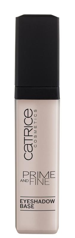 Catrice База под тени Prime And Fine Eyeshadow Base 010, 5 мл5010777142037Новая бесцветная база под тени Prime And Fine - идеальное средство для подготовки кожи век к макияжу. Она делает оттенок теней более интенсивным и обеспечивает макияжу непревзойденную стойкость! Кремовая текстура легко растушевывается и держится в течение всего дня.