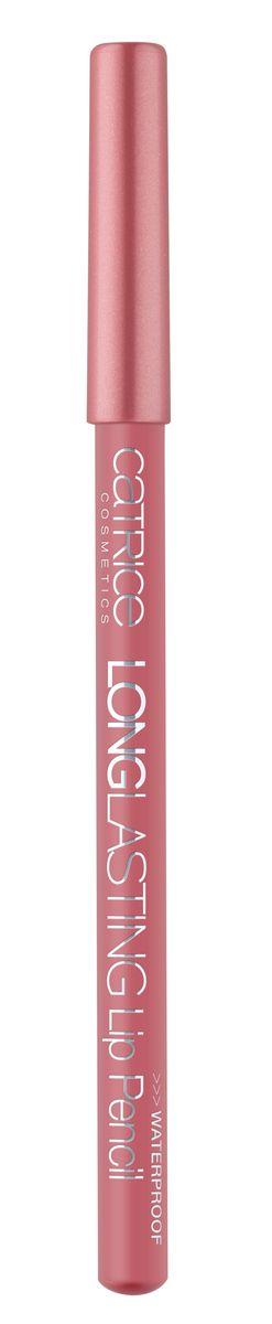 CATRICE Контур для губ Longlasting Lip Pencil 080 Thats What Rose Wood Do! розово-коричневый, 0,78грA8846300Карандаши для губ Longlasting Lip Pencil от CATRICE гарантируют превосходный результат и не позволят Вашей помаде или блеску выйти за очерченный контур.