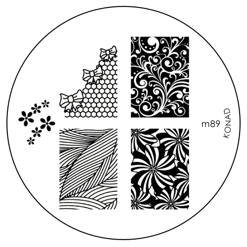 Konad Печатная форма (диск) M89 image plateSC-FM20104Диск для стемпинга. Теперь создавать дизайны на ногтях стало очень просто
