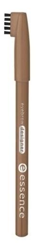 essence Карандаш для бровей eyebrow designer светло-коричневый т.04, 1грEYF06Удобная щеточка на колпачке позволяет смоделировать непослушные брови, а также растушевать контур, чтобы сделать линию более естественной. Великолепно сохраняется в течении всего дня .