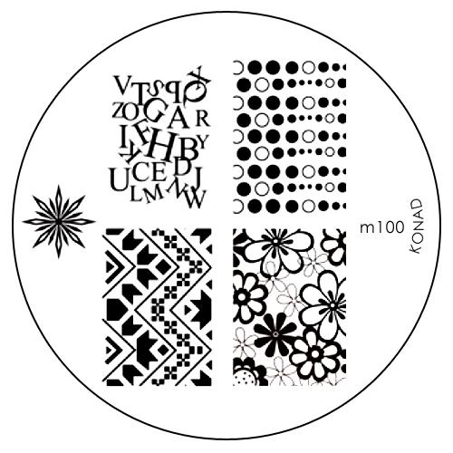 Konad Печатная форма (диск) M100 image plateSC-FM20104Диск для стемпинга. Теперь создавать дизайны на ногтях стало очень просто