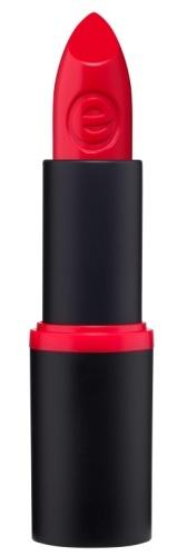 essence Губная помада longlasting lipstick насыщенно-красный т. 02, 3,8гр96078815Коллекция «longlasting lipstick» - это множество красивых оттенков губной помады, поэтому каждая девушка сможет выбрать себе подходящий ей цвет.Любая помада из этой серии имеет хорошо пигментированный цвет и на несколько часов придаёт губам безупречный ухоженный вид. Вы можете выбрать как нюдовые (например, оттенок 5, 11), так и яркие насыщенные цвета (оттенки 2, 3).Помады представлены в чёрной матовой пластиковой упаковке с цветной полоской, совпадающей с оттенком помады. Плотная крышка защищает помаду от возможности открываться без необходимости.