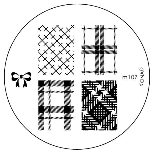 Konad Печатная форма (диск) M107 image plate50216Диск для стемпинга. Теперь создавать дизайны на ногтях стало очень просто