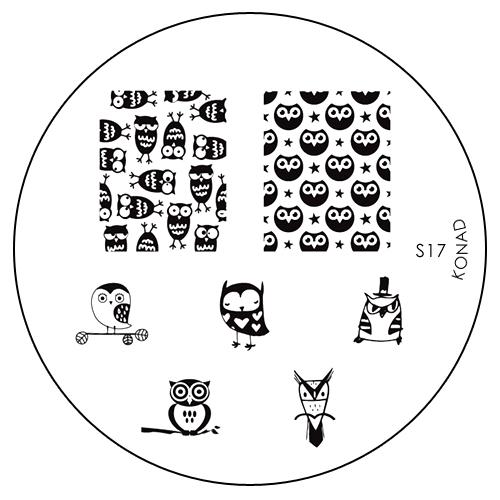 Konad Печатная форма (диск) S17 image plateSN-DSSTДиск для стемпинга. Теперь создавать дизайны на ногтях стало очень просто