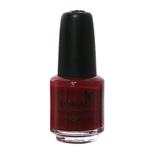 Konad Специальный лак для стемпинга Темно-красный S38 Dark Red 5 мл1301210Специальный лак для стемпинга 5 мл