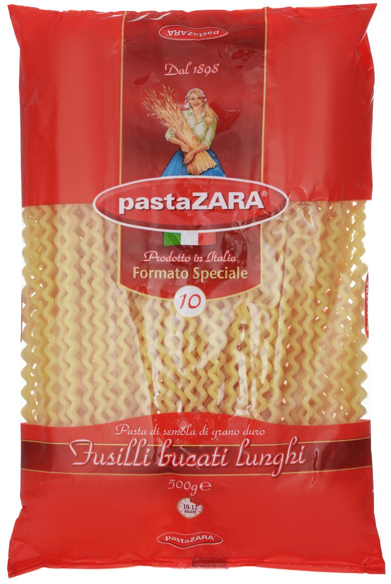 Pasta Zara Серпантин макароны, 500 г0120710Макароны Pasta Zara 010 сочетают в себе современность технологий производства и традиционное итальянское качество.Макаронные изделия Pasta Zara - одна из самых популярных марок итальянских макаронных изделий в России. Макароны Pasta Zaraвыпускаются в Италии с 1898 года семьёй Браганьоло уже в течение четырёх поколений. Это семейный бизнес, который вкладывает более, чем вековой опыт работы с макаронными изделиями в создание и продвижение своего продукта, тщательно отслеживая сохранение традиций.