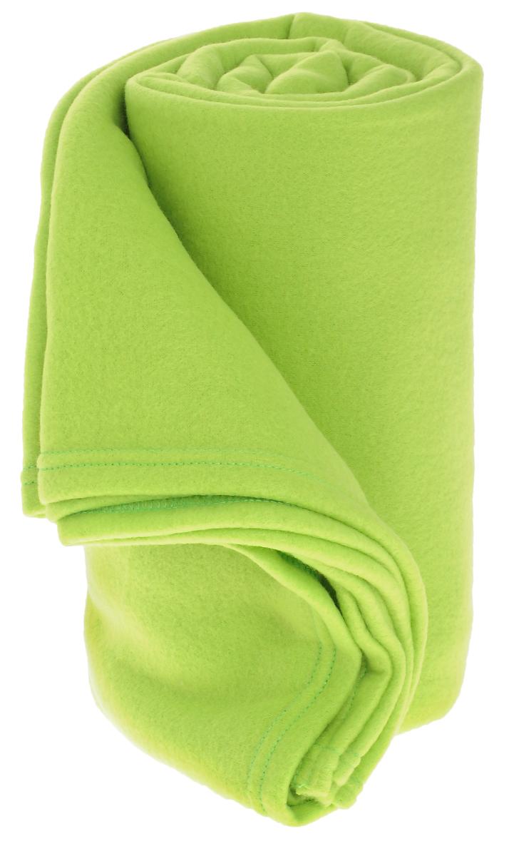 Покрывало флисовое Диана, цвет: салатовый, 150 х 200 см ПФ-сал-150-200ES-412Изящное покрывало Диана, выполненное из флиса (100% полиэстер), гармонично впишется в интерьер вашего дома и создаст атмосферу уюта и комфорта. Флис имеет фактуру велюра, ткань приятная на ощупь, мягкая и слегка пушистая, но при этом очень легкая, хорошо сохраняет тепло, устойчива к стирке и износу. Благодаря мягкой и приятной текстуре, глубоким и насыщенным цветам, такое покрывало станет модной, практичной и уютной деталью вашего интерьера. Покрывало согреет в прохладную погоду и будет превосходно дополнять интерьер вашей спальни. Высочайшее качество материала гарантирует безопасность не только взрослых, но и самых маленьких членов семьи.Покрывало может подчеркнуть любой стиль интерьера, задать ему нужный тон - от игривого до ностальгического. Покрывало - это такой подарок, который будет всегда актуален, особенно для ваших родных и близких, ведь вы дарите им частичку своего тепла!