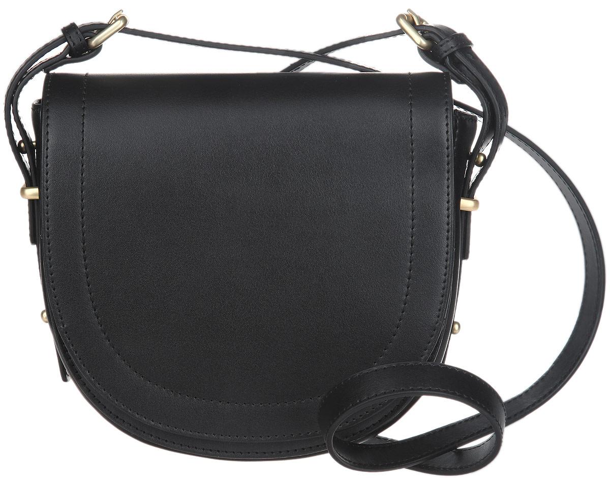 Сумка женская Fiorita, цвет: черный. 0316F71069с-2Стильная женская сумка Fiorita выполнена из натуральной кожи. Изделие имеет одно основноеотделение. Внутри содержится прорезной карман на застежке-молнии. Закрывается сумка на широкий клапан с магнитной кнопкой. Снаружи, под клапаном расположеннакладной открытый карман. Изделие оснащено плечевым ремнем, который крепится к сумкес помощью металлических пряжек. Длина ремня регулируется. Изделие упаковано в фирменныйчехол. Такая сумка дополнит вашобраз и сделает его завершенным.