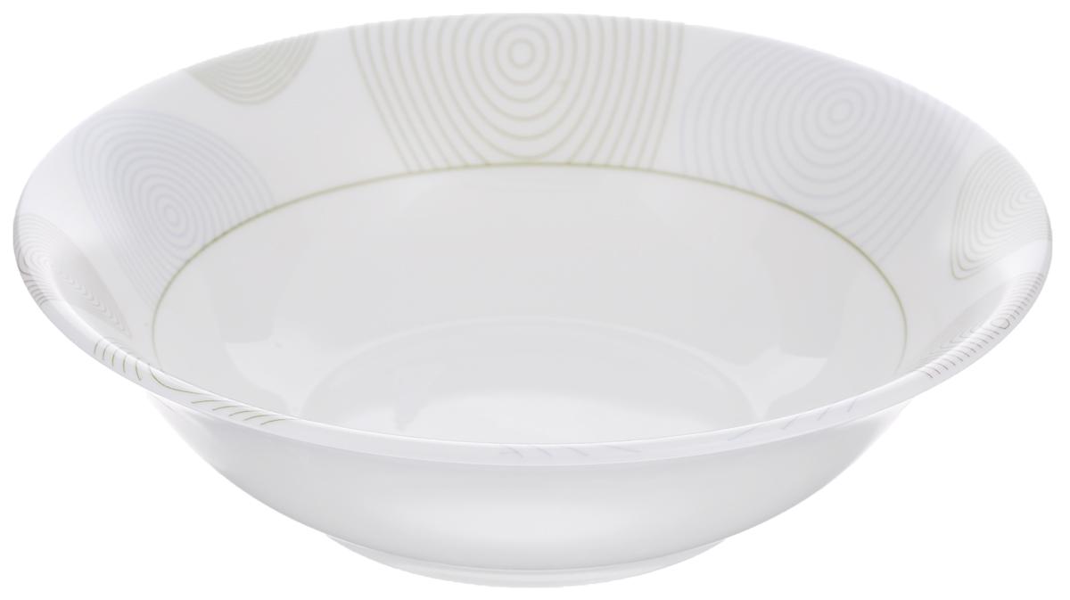 Миска Luminarc Variances, диаметр 16 см115610Миска Luminarc Variances выполнена из высококачественного стекла. Изделие сочетает в себеизысканный дизайн с максимальной функциональностью. Она прекрасно впишется в интерьер вашей кухни и станет достойным дополнением к кухонному инвентарю. Миска Variances подчеркнет прекрасный вкус хозяйки и станет отличным подарком. Диаметр миски (по верхнему краю): 16 см. Высота стенки: 5 см.