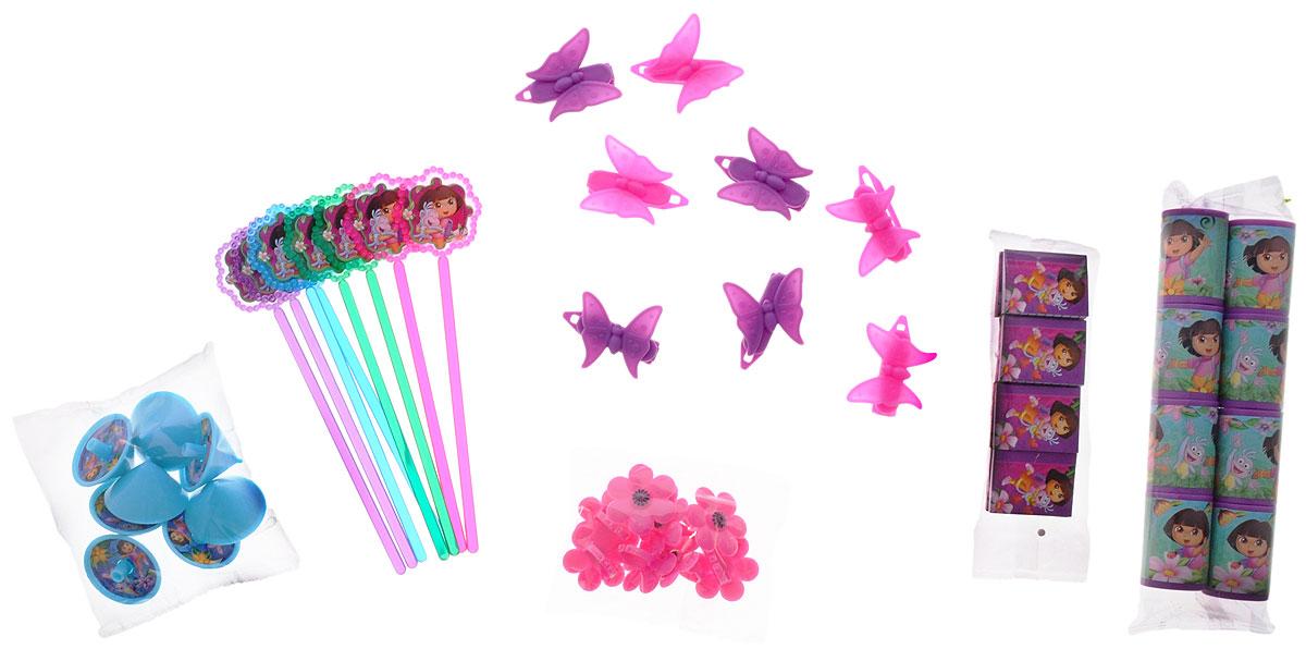 Веселая затея Игрушки для подарков Даша-путешественница - Аксессуары для детского праздника