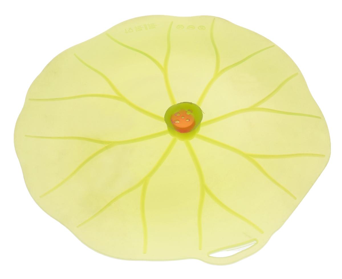 Крышка вакуумная Mayer & Boch Универсал, цвет: зеленый. Диаметр 31 смFS-91909Вакуумная крышка Mayer & Boch Универсал выполнена из пищевого силикона. Она предназначена для герметичного закрытия любой посуды. Крышка плотно прилегает к краям емкости, ограничивая доступ воздуха внутрь, благодаря этому ваши продукты останутся свежими гораздо дольше. Основные свойства: - выдерживает температуру от -40°С до +240°С, - невозможно разбить, - легко моется, - не деформируется при хранении в свернутом виде, - имеет долгий срок службы, сохраняя свой первоначальный вид, - не выделяет вредных веществ при нагревании или охлаждении, - не впитывает запахи, - не вступает в химическую реакцию с продуктами, - подходит для использования на посуде диаметром 15-30 см, - безопасна при использовании в печи, микроволновой печи, посудомоечной машине и морозильной камере.