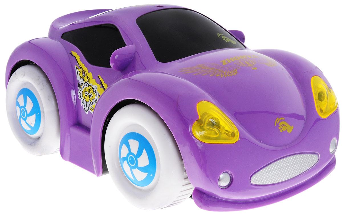Zhorya Машинка c сенсорным управлением Автомалыш цвет фиолетовый