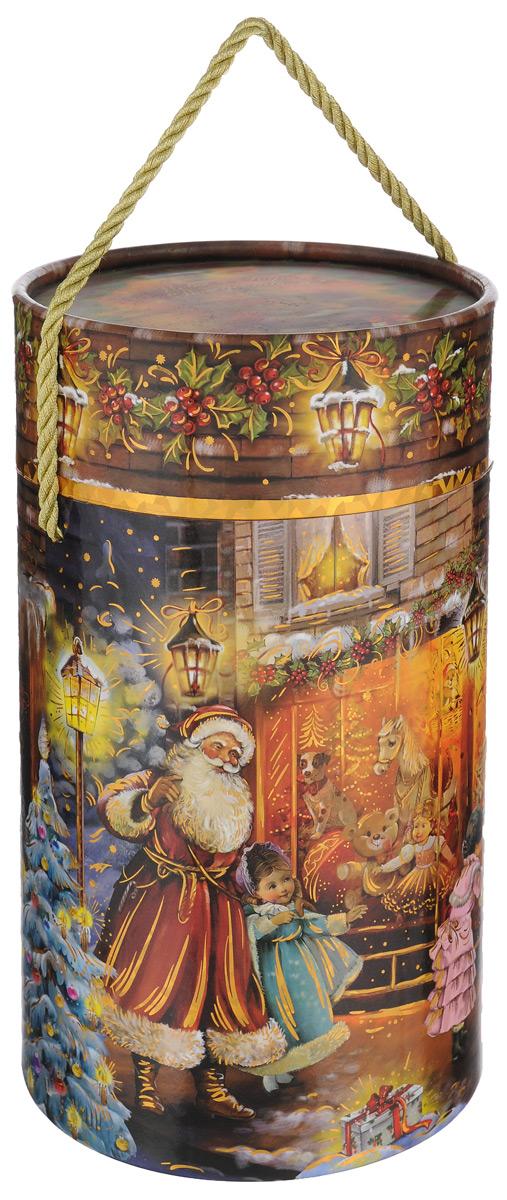 Тубус подарочный Правила Успеха Мечты сбываются, 13 см х 13 см х 22 смC0038550Подарочный тубус Правила Успеха Мечты сбываются изготовлен из плотного картона, покрытого лаком. Изделие оформлено красивым рисунком. Прекрасно подходит в качестве подарочной упаковки для алкоголя и многого другого. Красивый дизайн привлекает внимание, кроме того, он универсальный, поэтому тубус подойдет в качестве подарочной упаковки как для женщин, так и для мужчин. Для удобства переноски тубус снабжен ручкой-шнурком. Подарок, преподнесенный в оригинальной упаковке, всегда будет самым эффектным и запоминающимся. Окружите близких людей вниманием и заботой, вручив презент в нарядном, праздничном оформлении.