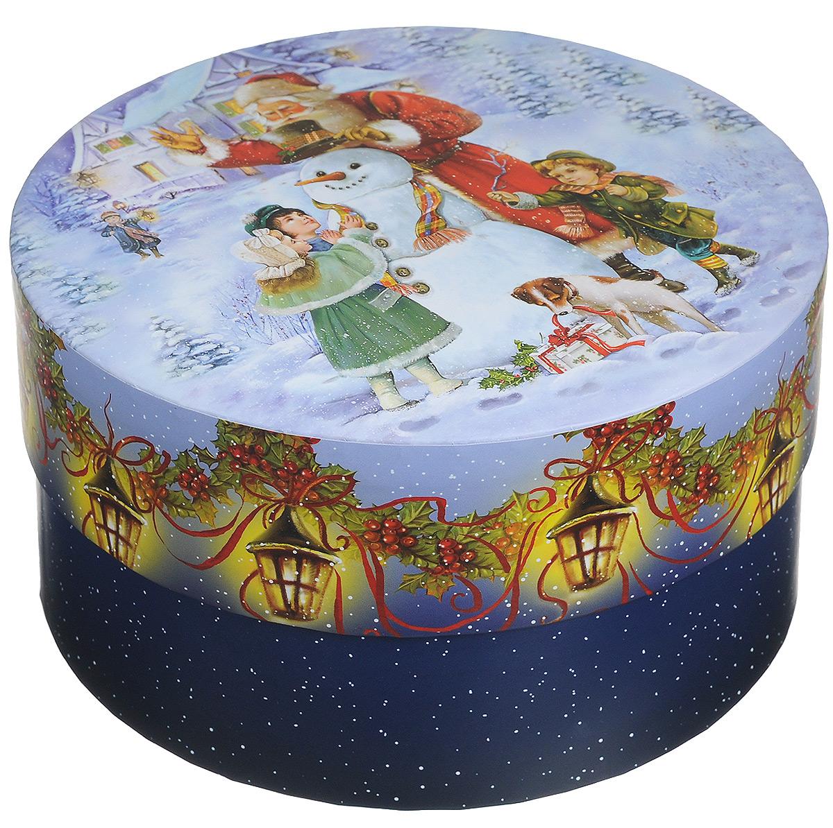 Коробка шляпная Правила Успеха Снежные забавы, 18 х 18 х 10 см55052Подарочная коробка Правила Успеха Снежные забавы выполнена из высококачественного плотного картона и предназначена для праздничной упаковки новогодних подарков. Коробка декорирована новогодним рисунком. Подарок, преподнесенный в оригинальной упаковке, всегда будет самым эффектным и запоминающимся. Окружите близких людей вниманием и заботой, вручив презент в нарядном, праздничном оформлении.