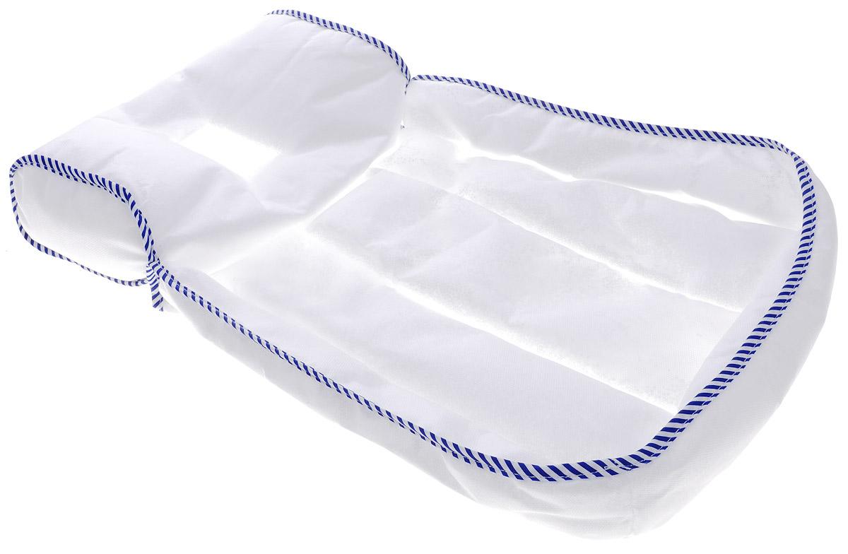 Selby Матрасик для купания цвет белый синий -  Горки, подставки, шезлонги