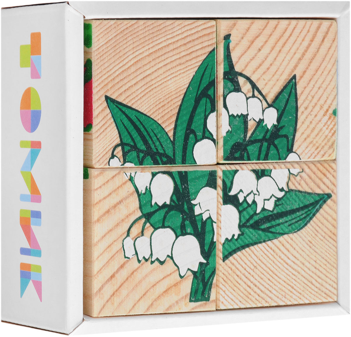 Томик Кубики Цветы