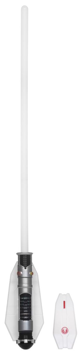 Star Wars Светильник Световой меч Оби Ван Кеноби10716/1W ANTIQUEСветильник Star Wars Световой меч Оби Ван Кеноби непременно понравится любому поклоннику Звездных войн, и украсит интерьер вашего дома. Меч является точной копией оружия Оби Ван Кеноби - одного из главных героев эпопеи Звездные Войны. Световой меч станет великолепным украшением комнаты любого поклонника знаменитой космической саги. Меч дополнен звуковыми эффектами и светится приятным синим цветом, не раздражает глаза и прекрасно подходит на роль ночника. Благодаря входящему в комплект пульту дистанционного управления, вы сможете включать и выключать светильник не вставая с кровати. В комплект входят все элементы для сборки меча-светильника, это поможет ребенку не только создать оригинальный ночник своими руками, но и познакомиться с основами моделирования и электроники.Необходимо докупить 5 батареек напряжением 1,5V типа ААА (не входят в комплект).