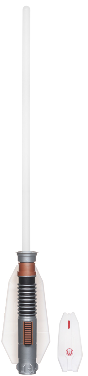 Star Wars Светильник Световой меч Люка Скайуокера56392-4Светильник Star Wars Световой меч Люка Скайуокера непременно понравится любому поклоннику Звездных войн, и украсит интерьер вашего дома. Меч является точной копией оружия Люка Скайуокера - главного героя IV, V и VI эпизодов. Вместе с ним он прошёл через множество опасных приключений, не поддался искушению и даже смог выстоять в поединке с Дартом Вейдером! Световой меч станет великолепным украшением комнаты любого поклонника знаменитой космической саги. Меч дополнен звуковыми эффектами и светится приятным зеленым цветом, не раздражает глаза и прекрасно подходит на роль ночника. Благодаря входящему в комплект пульту дистанционного управления, вы сможете включать и выключать светильник не вставая с кровати. В комплект входят все элементы для сборки меча-светильника, это поможет ребенку не только создать оригинальный ночник своими руками, но и познакомиться с основами моделирования и электроники.Необходимо докупить 5 батареек напряжением 1,5V типа ААА (не входят в комплект).