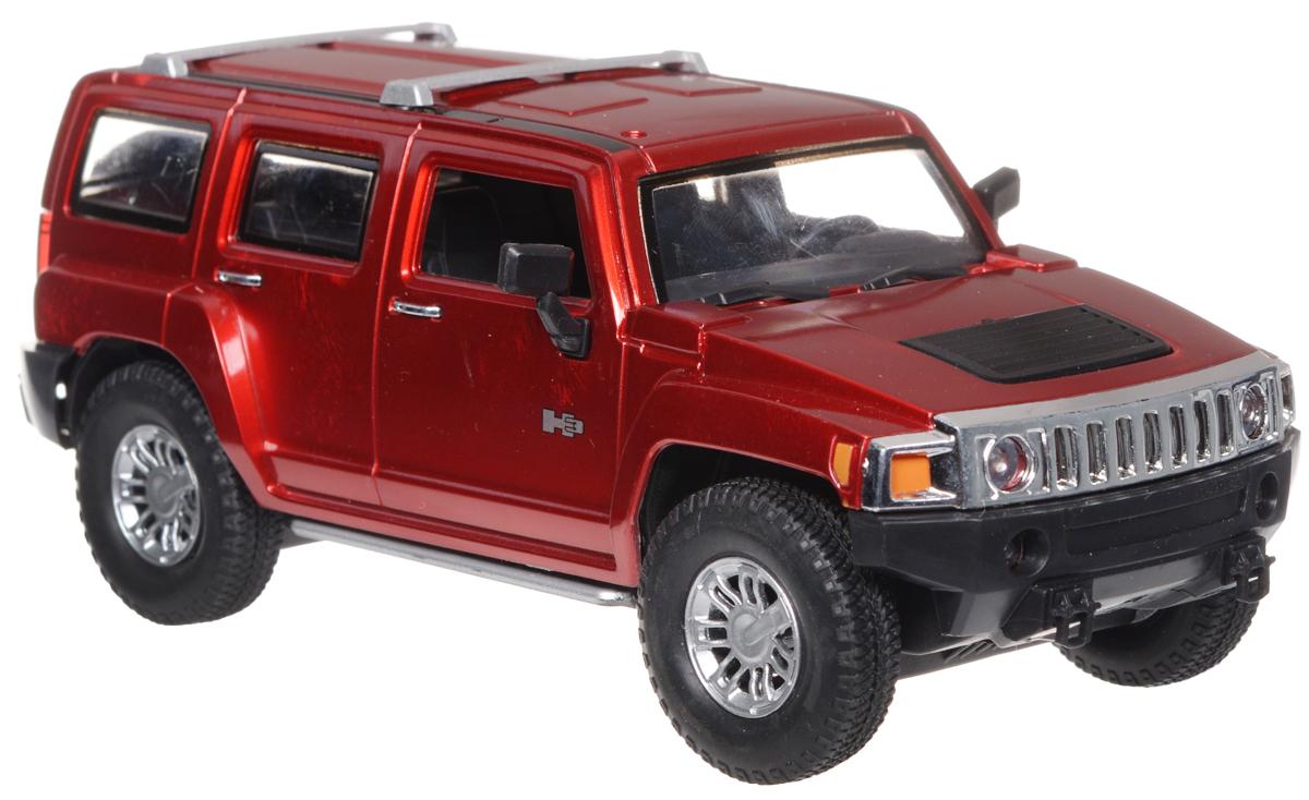 машины kidztech а м 1 26 hummer h2 Guokai Машинка инерционная Hummer H2 SUT цвет красный