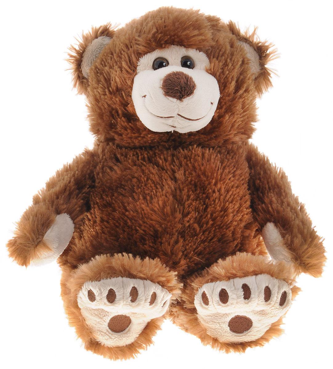 Plush Apple Мягкая игрушка Медведь Аркаша 38 см цвет коричневый мягкая игрушка plush apple собака с шарфом 28 см