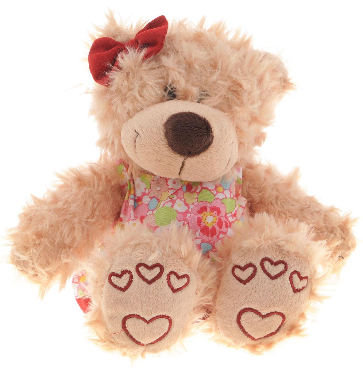 Sonata Style Мягкая игрушка Медведь в платье 19 см б у корбюратор на рено 19 в москве