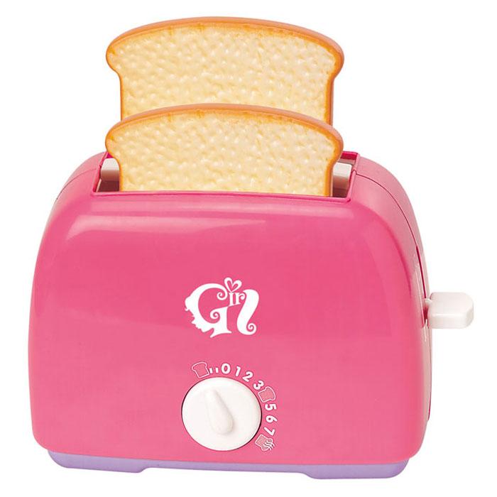 """Игровой набор Playgo """"Тостер"""" привлечет внимание вашего маленького кулинара и не позволит ему скучать. Набор включает в себя тостер и 2 кусочка хлеба. Игрушечный тостер очень похож на настоящий кухонный прибор! Поместите тосты внутрь и поверните выключатель - и он начнет поворачиваться обратно с характерным тиканьем, а когда отсчет закончится - тосты выпрыгнут наружу. С таким набором ваш малыш сможет приготовить для своих игрушек вкусный завтрак. Игрушечная бытовая техника не только развлекает ребенка, но и знакомит его с правилами использования электроприборов. Порадуйте его таким замечательным подарком!"""