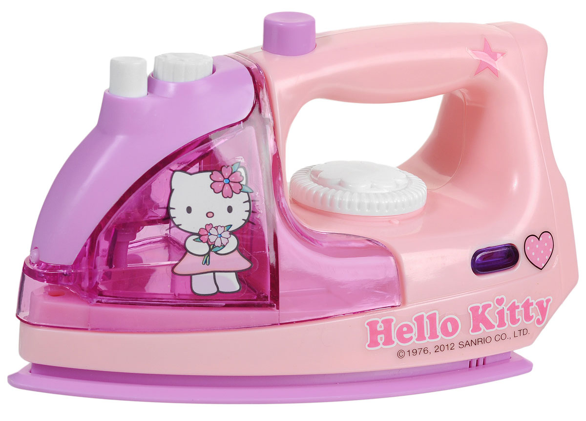 Simba Утюг Hello Kitty, цвет: розовый, сиреневый