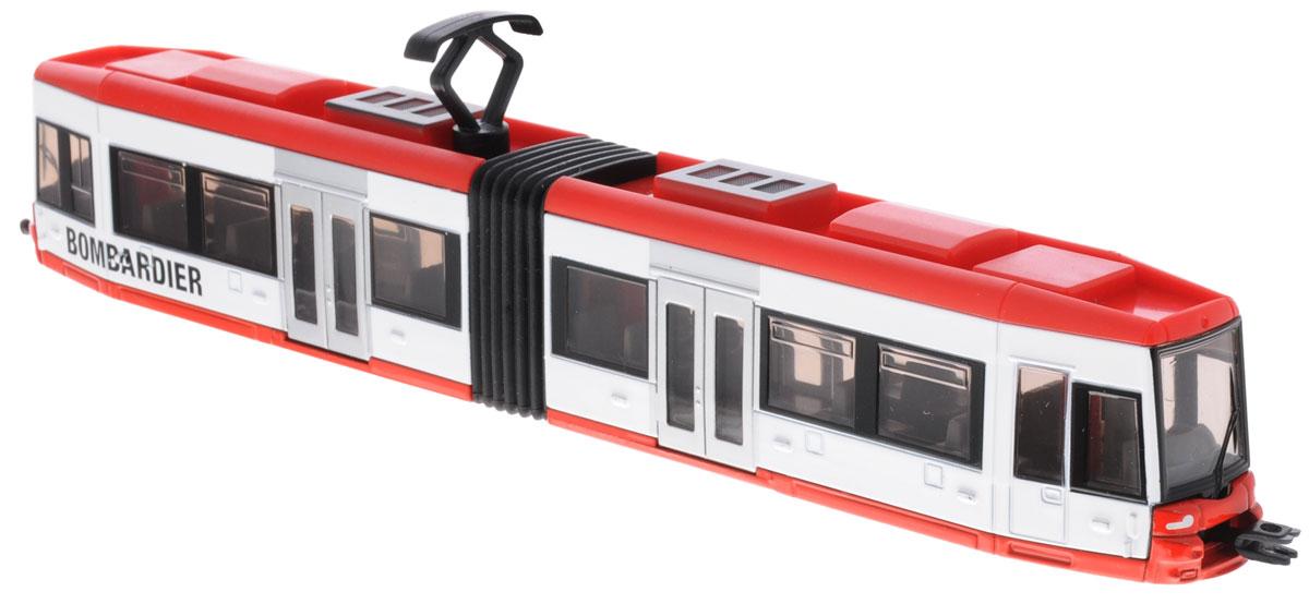 Siku Трамвай Bombardier технопарк трамвай