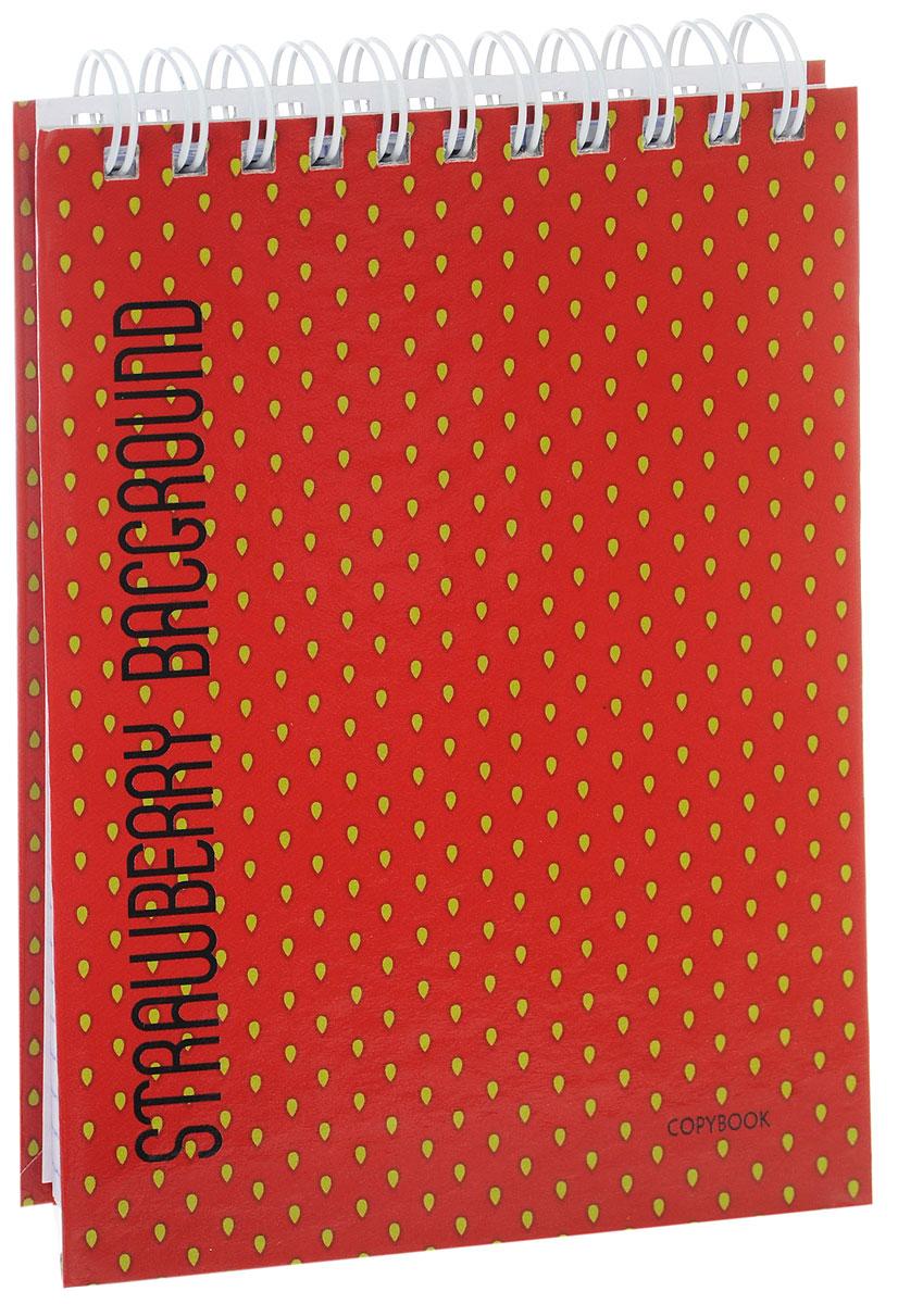 Listoff Блокнот Клубничный цвет 80 листов в клеткуM-960640-3Блокнот Listoff Клубничный цвет в твердой обложке послужит прекрасным местом для памятных записей, любимых стихов и многого другого. Внутренний блок состоит из 80 листов белой бумаги на гребне со стандартной линовкой в клетку.Блокнот - незаменимый атрибут современного человека, необходимый для рабочих и повседневных записей в офисе и дома. Блокнот Клубничный цвет станет достойным аксессуаром среди ваших канцелярских принадлежностей.