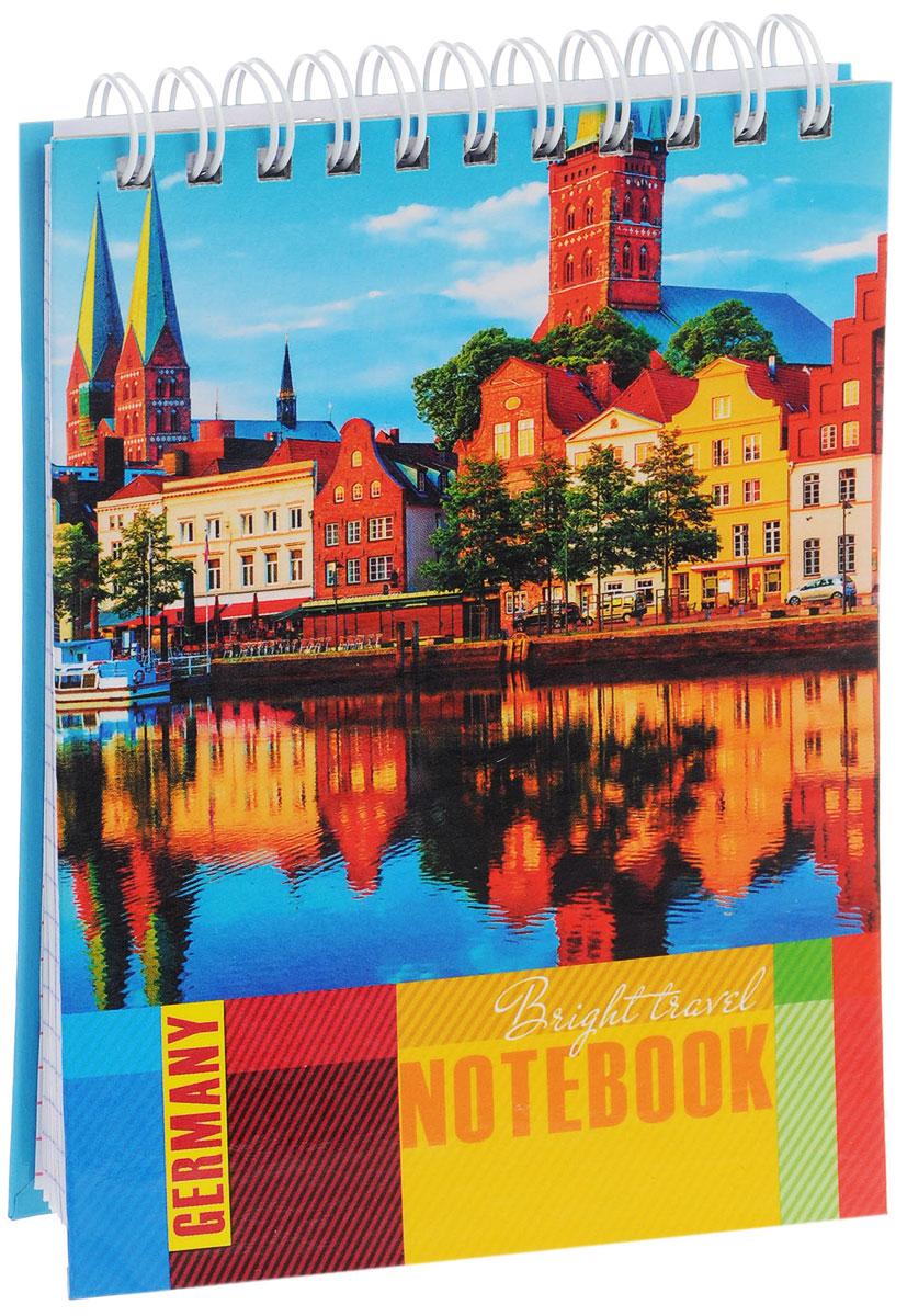 Listoff Блокнот Яркая Германия 80 листов в клеткуТС6804234Блокнот Listoff Яркая Германия в твердой обложке послужит прекрасным местом для памятных записей, любимых стихов и многого другого. Внутренний блок состоит из 80 листов белой бумаги на гребне со стандартной линовкой в клетку.Блокнот - незаменимый атрибут современного человека, необходимый для рабочих и повседневных записей в офисе и дома. Блокнот Яркая Германия станет достойным аксессуаром среди ваших канцелярских принадлежностей.
