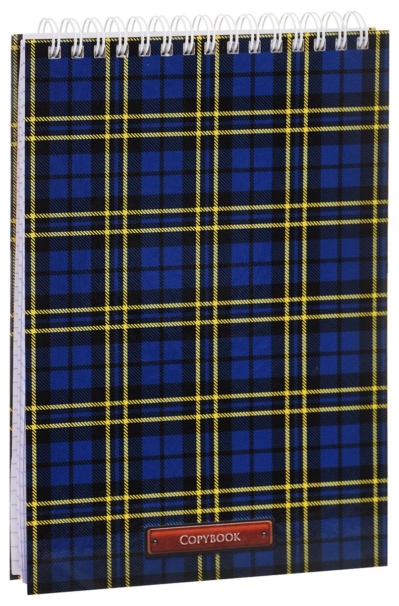 Listoff Блокнот Шотландка 100 листов в клетку72523WDБлокнот Listoff Шотландка в твердой обложке послужит прекрасным местом для памятных записей, любимых стихов и многого другого. Внутренний блок состоит из 100 листов белой бумаги на гребне со стандартной линовкой в клетку.Блокнот - незаменимый атрибут современного человека, необходимый для рабочих и повседневных записей в офисе и дома. Блокнот Шотландка станет достойным аксессуаром среди ваших канцелярских принадлежностей.