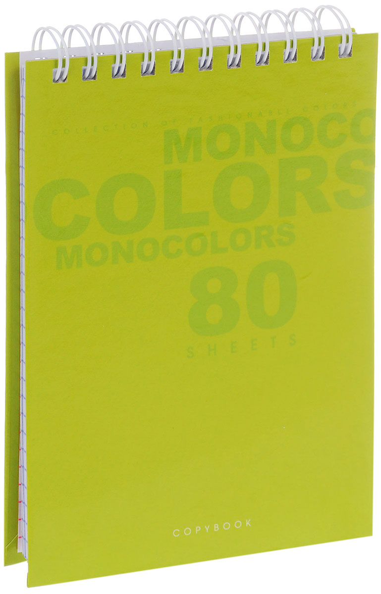 Listoff Блокнот Яркий цвет 80 листов в клетку72523WDБлокнот Listoff Яркий цвет в твердой обложке послужит прекрасным местом для памятных записей, любимых стихов и многого другого. Внутренний блок состоит из 80 листов белой бумаги на гребне со стандартной линовкой в клетку.Блокнот - незаменимый атрибут современного человека, необходимый для рабочих и повседневных записей в офисе и дома. Блокнот Яркий цвет станет достойным аксессуаром среди ваших канцелярских принадлежностей.