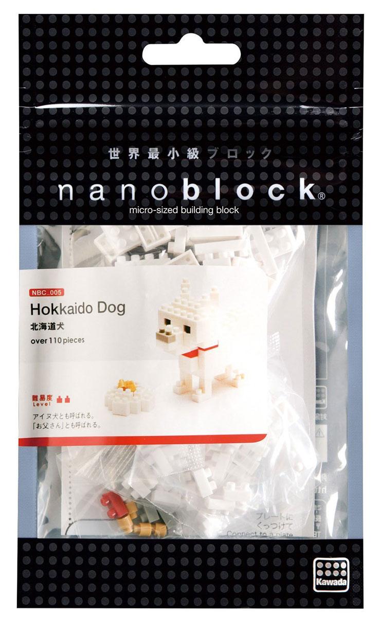NanoBlock Мини-конструктор Хоккайдская собака гаджет fototo nanoblock фотоаппарат конструктор