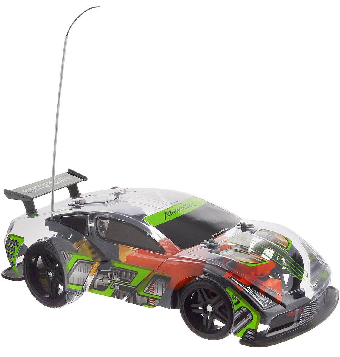 """Радиоуправляемая модель Maisto """"Express Lane VRT-16"""" с ярким привлекающим внимание дизайном обязательно понравится всем любителям гоночных автомобилей. Корпус выполнен из высококачественного пластика. Машина представляет собой копию машины, уменьшенную в 14 раз. Двигается в нескольких направлениях: вперед, назад, вправо, влево. Автомобиль оснащен профессиональным передатчиком с частотой 27 MHz. Управление с помощью дистанционного пульта управления (поставляется в комплекте). В комплекте инструкция по эксплуатации на русском языке. Для работы машины необходимо докупить 6 батареек напряжением 1,5V типа АА (в комплект не входят). Для работы пульта управления необходимо докупить 2 батарейки напряжением 1,5V типа ААА (в комплект не входят)."""